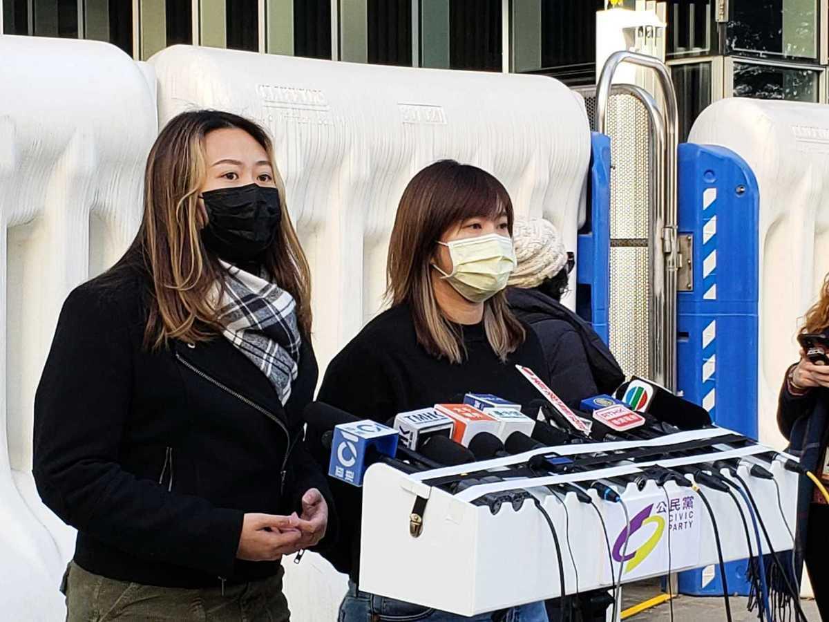 今日(13日),公民黨召開例行記者會,批評北京及特區政府輸打贏要,只要不想某部份人「入閘」參選,就主動改變遊戲規則。(郭威利/大紀元)