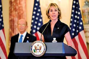 美駐聯大使與蔡英文通話:美台並肩站一起
