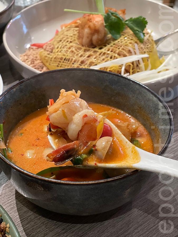 冬陰大頭蝦湯。(Siu Shan提供)