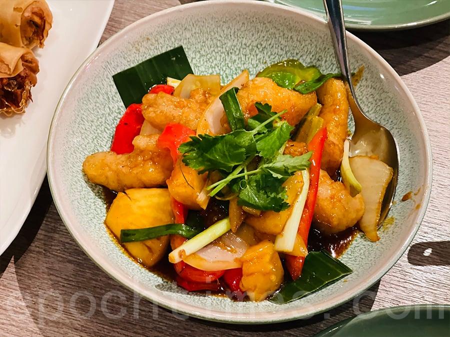 泰式酸甜魚柳。(Siu Shan提供)