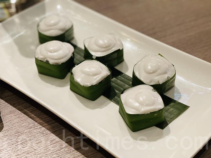 椰汁西米糕。(Siu Shan提供)