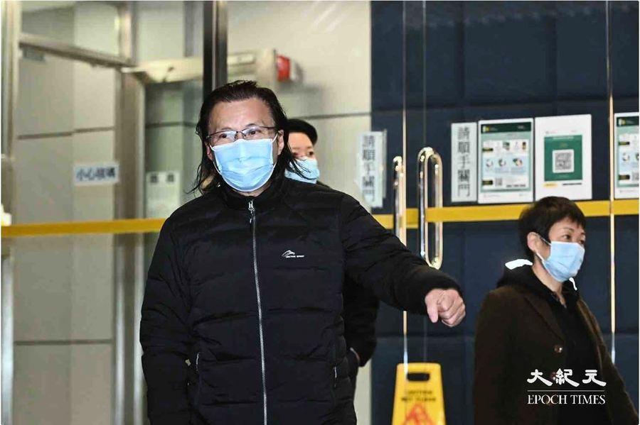 【圖片新聞】港律師黃國桐已獲保釋 須繳一萬元