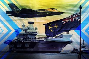 【軍事熱點】英國對中共發難 計劃在南海部署航母戰鬥群