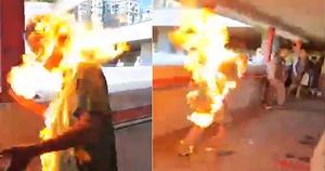 港兩男涉助「火燒人」抗爭者逃亡被捕  警稱涉代購機票「協助逃犯」