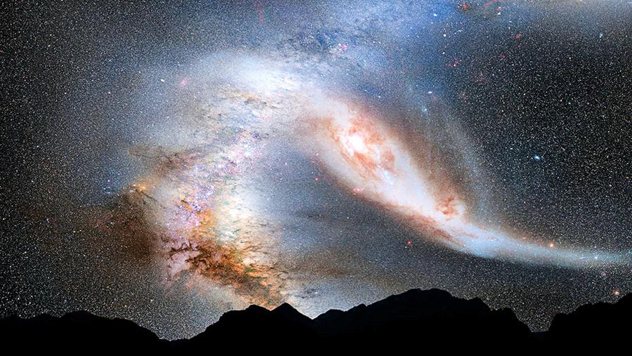 天文學家首次目睹 遙遠星系正在迅速死亡