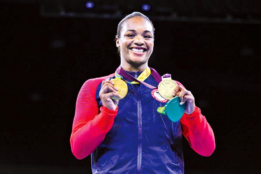美金牌女將分享感人故事