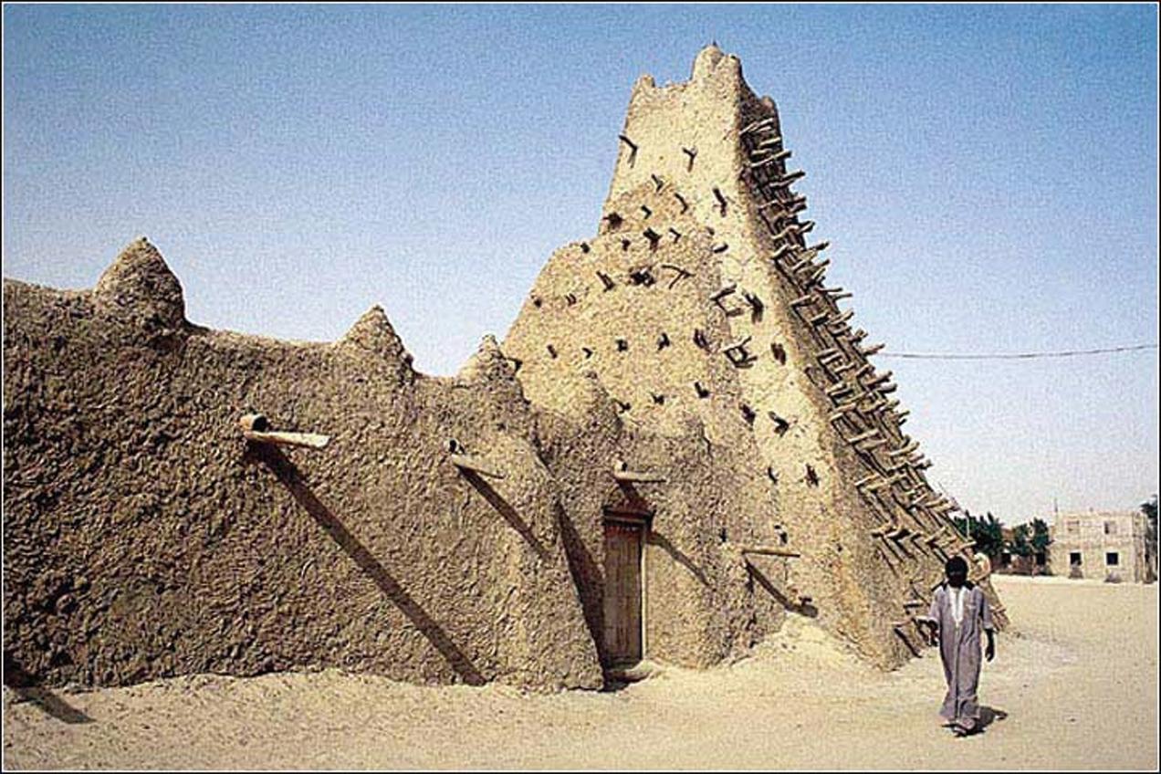 伊斯蘭極端分子艾哈邁德.馬哈迪摧毀廷巴克圖文化遺產,被控犯下戰爭罪。(AFP)