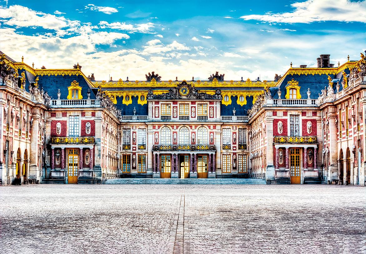 凡爾賽宮的宮殿是古典主義風格建築。(Shutterstock)