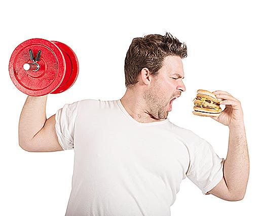 肥胖和大腦萎縮的因果關係還不清楚。(Fotolia)