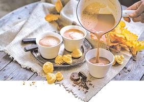 冬季暖心食譜 濃郁香醇的熱朱古力