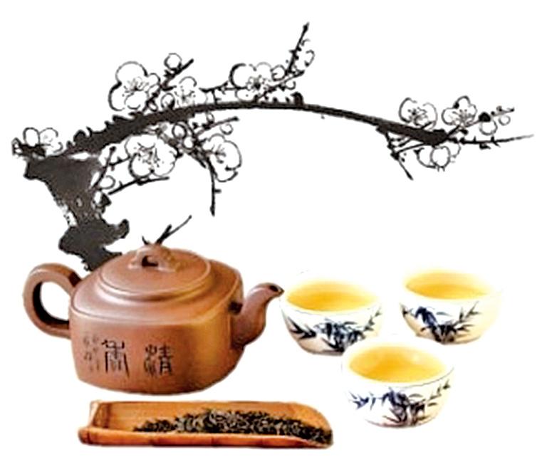 蒸之馥之香勝梅 聞名千載陽羨茶