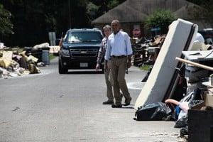 奧巴馬訪路州 關注災後重建工作
