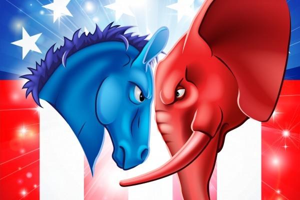 根據最新全國民調,希拉莉領先特朗普8%,但與之前的民調相比,希拉里領先幅度略有縮小。(Fotolia)