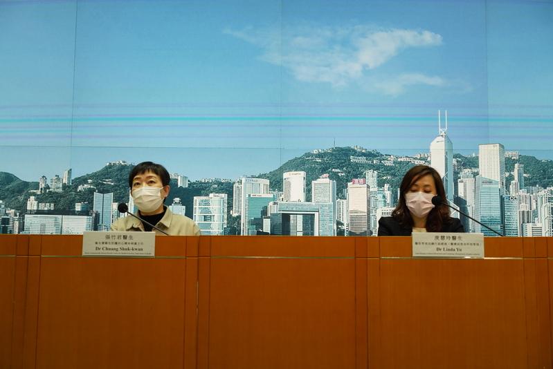 截至1月21日零時零分,本港新增70宗中共病毒(武漢肺炎)確診個案,累計9,868宗個案。(余鋼/大紀元)