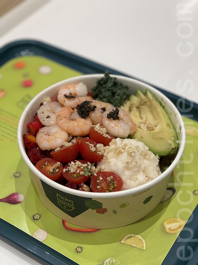 黑松露醬熟蝦。(Siu Shan提供)