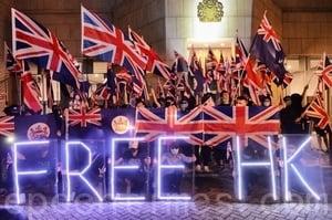 國安法下至少34港人赴英尋求庇護