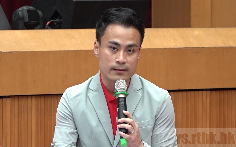 工聯會立法會議員郭偉強。(RTHK)