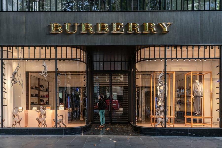 Burberry上季疫情嚴峻時關店62間 年比銷售降9%