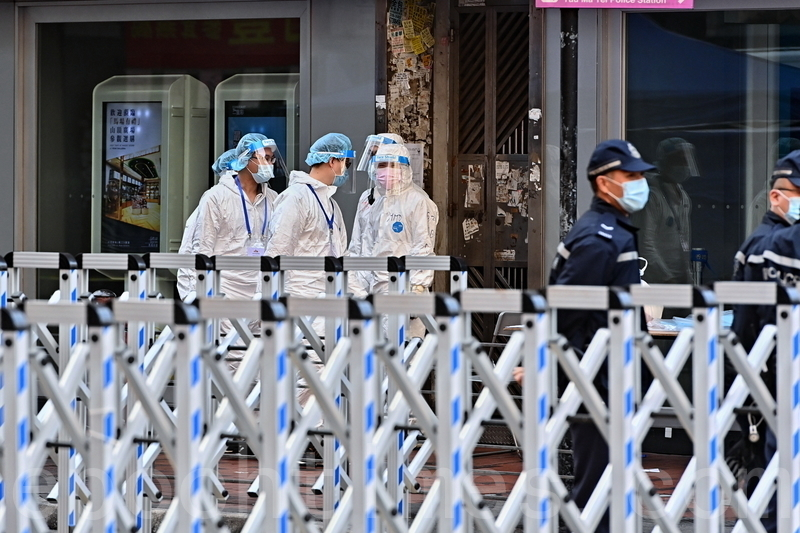 佐敦封區強檢7,000市民   13樣本初呈陽性