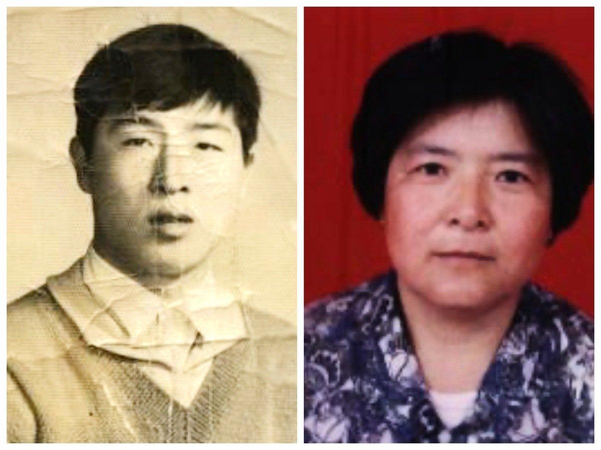 被迫害致死的河北省保定市滿城區法輪功學員劉冬雪(左)、周文芳(右)。(大紀元合成圖)