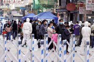 佐敦封區兩天居民強制檢測 逾七千人接受檢測十三人初步確診