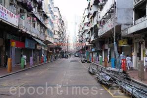 佐敦強檢鬧市變蕭條 議員:港府討好中央勞民傷財