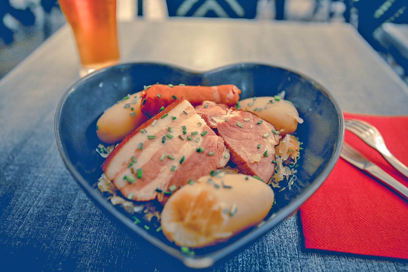科爾馬美食──醃酸菜。