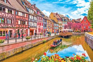 法國小鎮科爾馬 走進童話世界