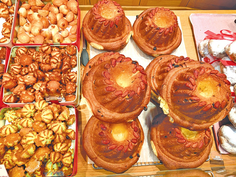 科爾馬美食──特色圓形蛋糕。
