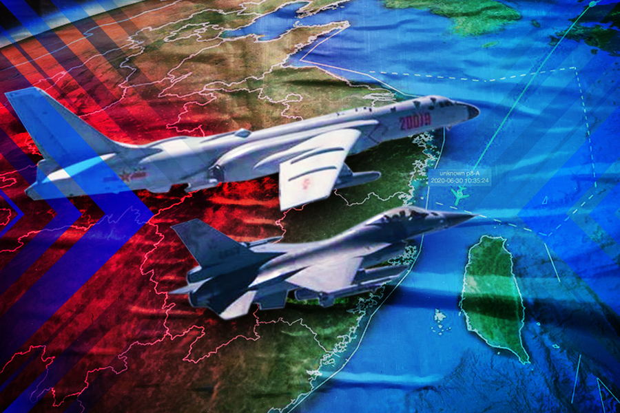 台海局勢緊張 美航母戰鬥群進入南海