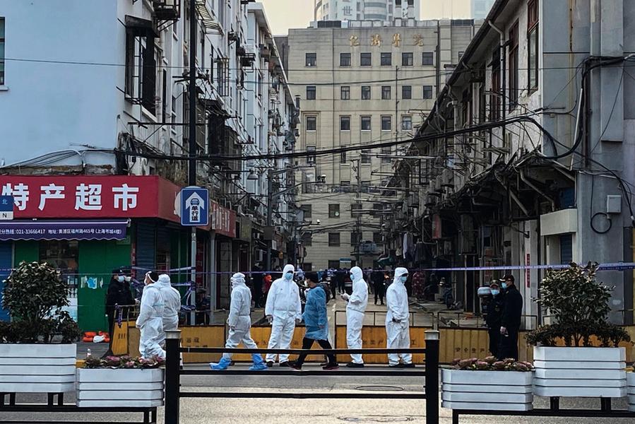 上海疫情擴至長寧區 多宗治癒出院者復陽