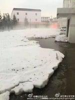 甘肅甘南突降暴雨冰雹 局部地區災情嚴重
