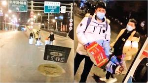 封城封路 學生被迫滯留街頭