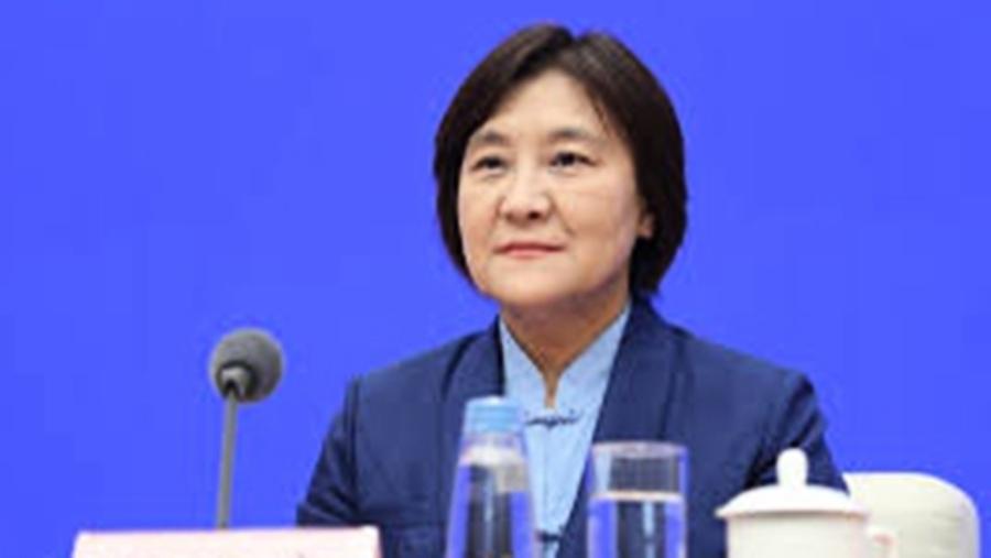 內蒙古女主席做報告突暈倒
