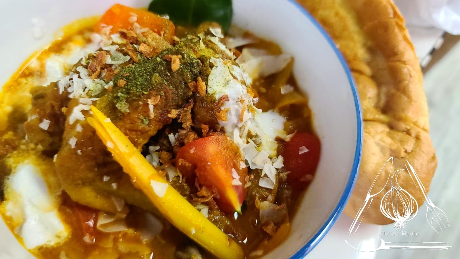 馬來西亞咖哩雞。(Kitchen Madlic提供)