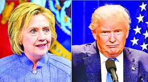 美大選新戰場: 特朗普「納稅軟肋」 希拉莉「重病纏身」