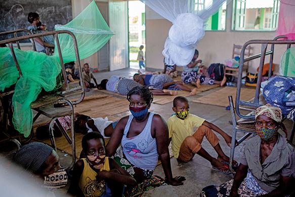 莫桑比克遭熱帶氣旋襲擊 數十萬人受災