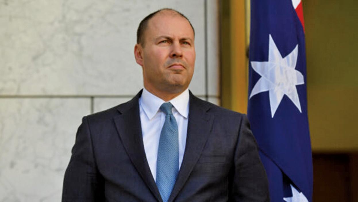 澳洲財長Josh Frydenberg批評:習近平言辭和行動脫節。(Sam Mooy/Getty Images)