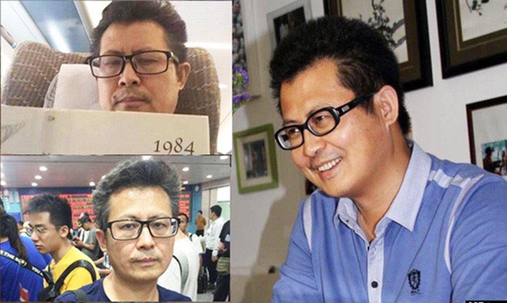 中國人權活動家郭飛雄原定1月28日自廣州搭機至上海,再搭當晚的飛機赴美,探視術後的妻子張青。目前他已失聯。有可能已被公安綁架。(大紀元資料圖片)