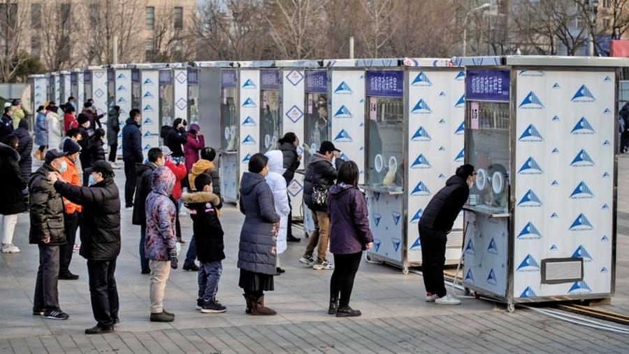 中國人過年回家需三次核酸檢測