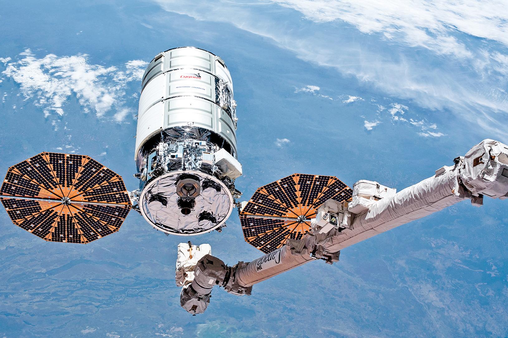 天鵝座飛船。(NASA)