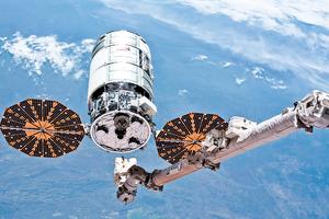 NASA縱火燒毀ISS補給飛船