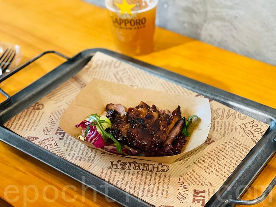 西班牙黑毛豬叉燒。(Siu Shan提供)