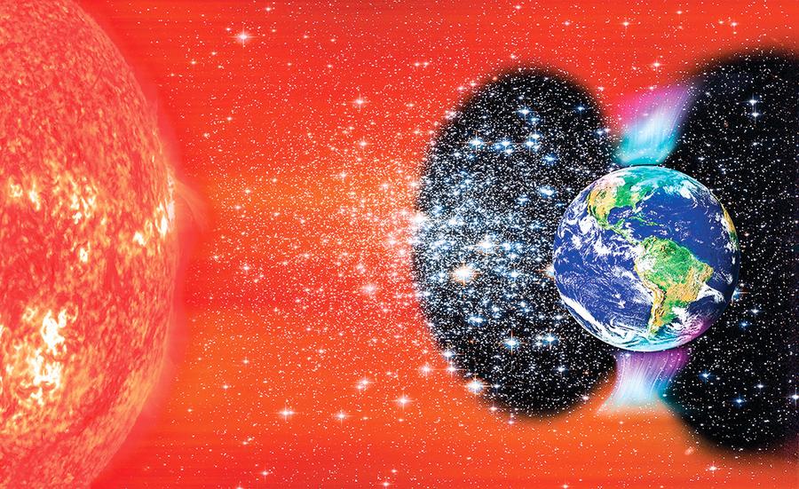 新發現太陽風襲擊北極超過南極