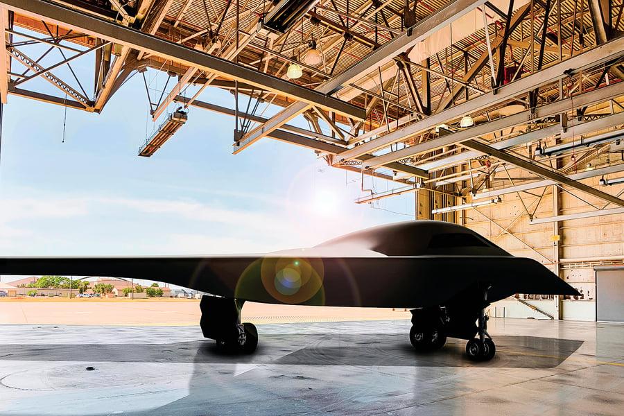 美軍神秘 B-21轟炸機 最快明年年中首飛