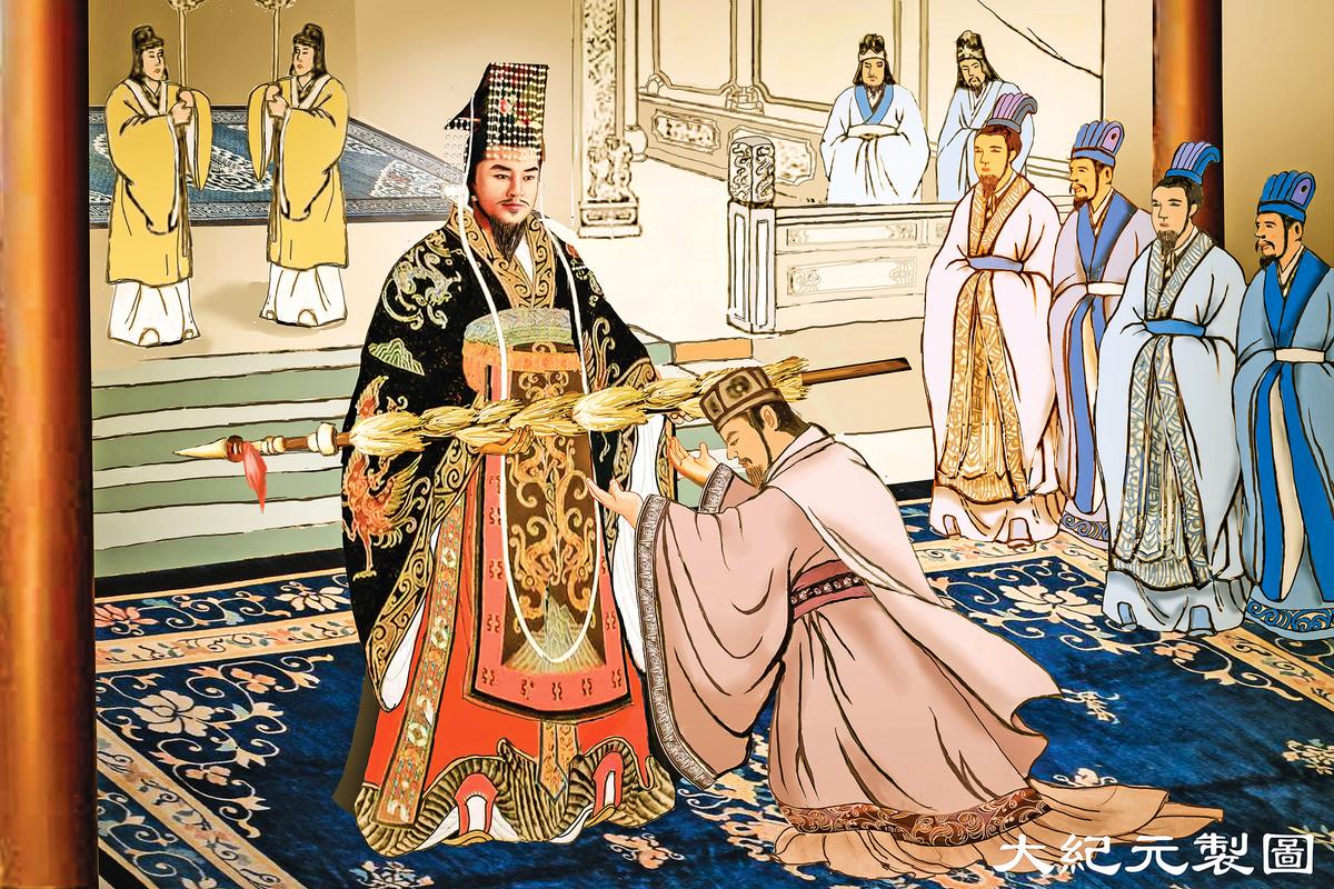 漢武帝的侍從官張騫出使西域13年,為漢朝帶回了西域地圖,還掌握了那裏的地理、物產、風俗、民情等全面資訊。(大紀元製圖)