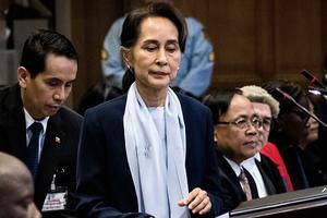 緬甸政變 昂山素姬被捕