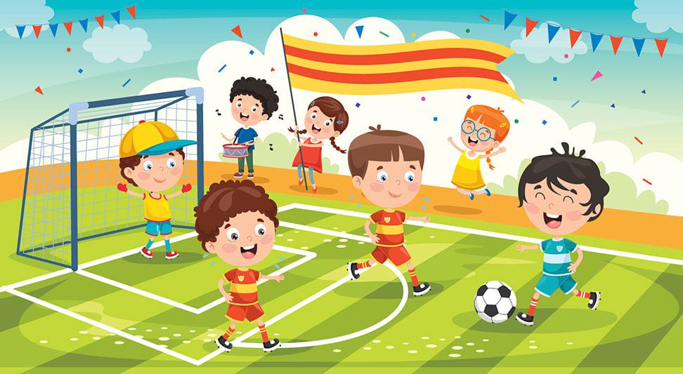 童詩 : 足球比賽