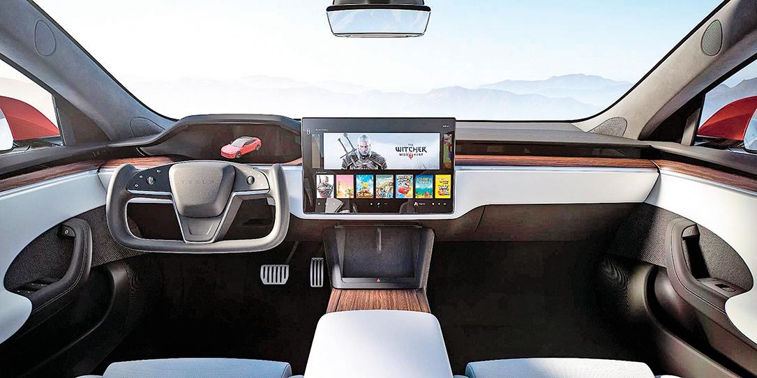 特斯拉發佈 重新設計的Model S
