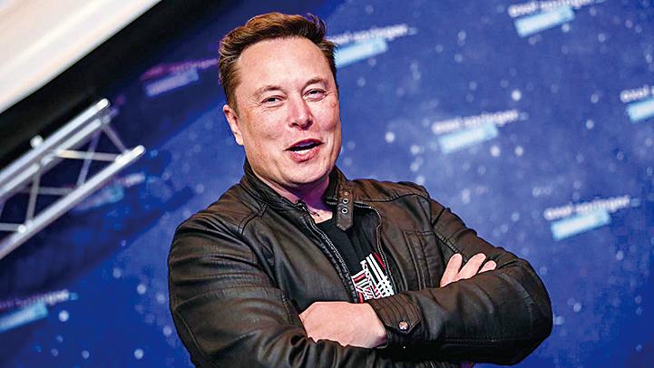 2020年12月1日,SpaceX及特斯拉CEO馬斯克出席在德國柏林舉行的阿克塞爾施普林格獎頒獎典禮。(Getty Images)